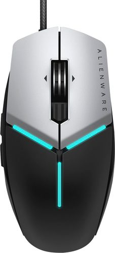 Alienware Elite Gaming Mouse AW959 - Mouse - optical - 11 buttons - wired - USB - black silver - for Alienware Aurora R8, M15; G7 15 7590, 17 7790