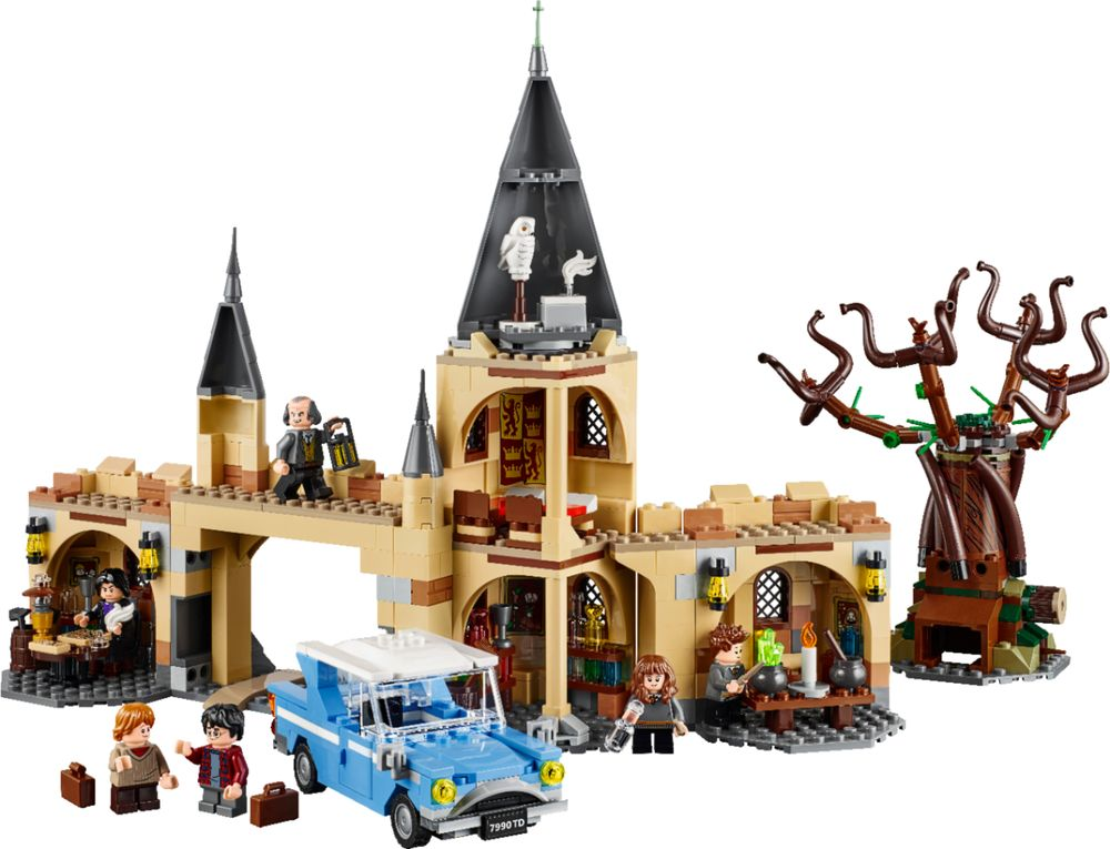 Lego Harry Potter & The Chamber Of Secrets Hogwarts Whomping Willow 75953 Building Kit (753 Pieces)