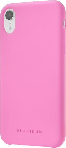Platinum - Silicone Case for Apple® iPhone® XR - Hot Pink