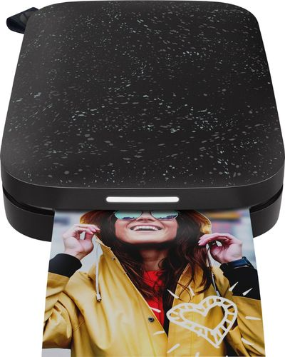 HP Sprocket Portable Photo Printer | 2nd Edition | Noir | 1AS86A