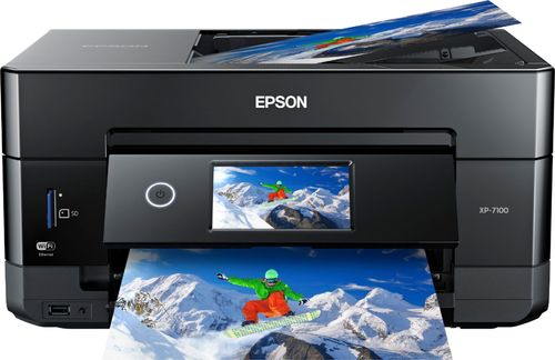 Epson Expression Premium XP-7100 Wireless All-in-One Color Inkjet Printer