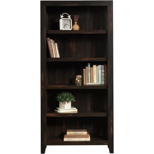 Sauder - Dakota Pass Collection 5-Shelf Bookcase - Char Pine