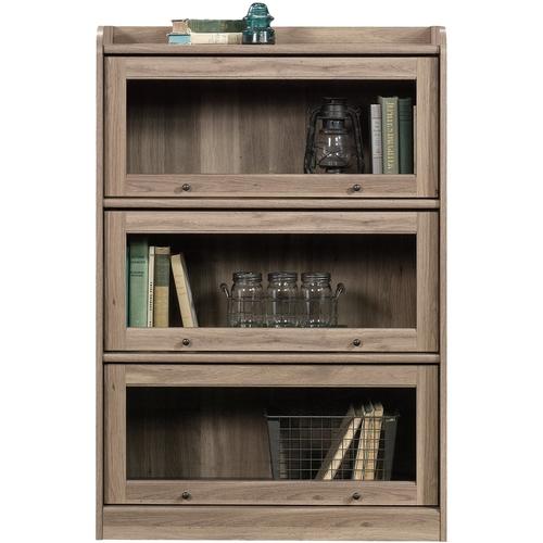 Sauder Barrister Lane 3 Shelf Bookcase, Salt Oak Finish