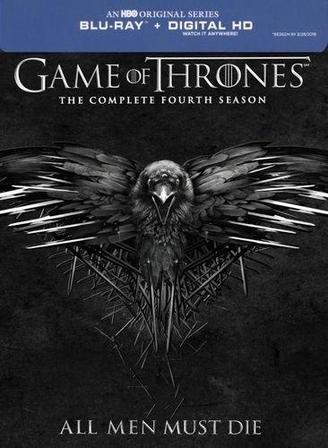 Game of Thrones: The Complete Fourth Season [Includes Digital Copy] [Blu-ray] 6281178