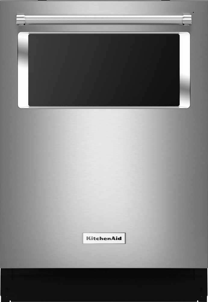 "KitchenAid 24"" Tall Tub Built-In Dishwasher Stainless-Steel KDTM384ESS"