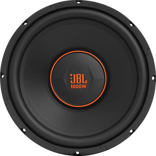 "JBL - GX Series 12"" Single-Voice-Coil 4-Ohm Subwoofer - Black"