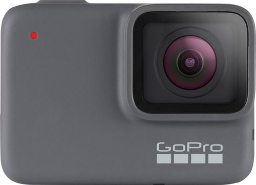 GoPro - HERO7 Silver HD Waterproof Action Camera - Silver
