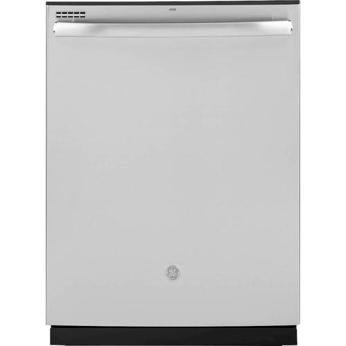 GE Stainless Steel GDT605PSMSS 24u0022u0022 Built-In Dishwasher with 16 Place Settings  4 Bottle Wash Jets  Steam Prewash  3-Level 600 Series Wash System  Piranha Hard Food Disposer  in Stainless Steel
