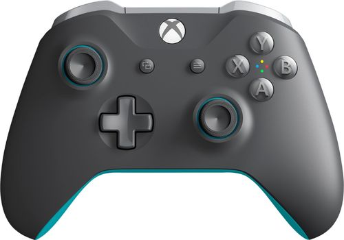 Xbox One Wireless Controller - Charcoal/Blue