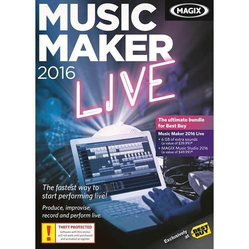 Music Maker 2016 Live...