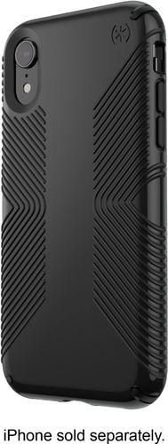 Speck - Presidio GLOSSY GRIP Case for Apple® iPhone® XR - Black