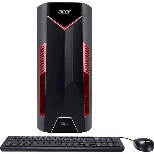 Acer Nitro N50-600 Gaming Desktop - Intel Core i5-8400 , NVIDIA GeForce 1060 6GB, 12GB RAM, 256GB SSD ,Windows 10 Home 64-bit, Ci58400