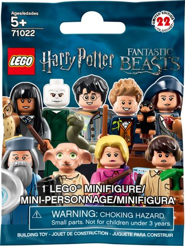 LEGO Minifigures Harry Potter and Fantastic Beasts 71022 Toy of the Year 2019