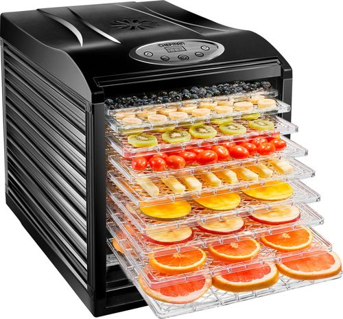 Chefman 9 Tray Food Dehydrator Machine Professional Electric Multi-Tier Food Preserver, Meat or Beef Jerky Maker, Fruit & Vegetile Dryer with Slide Out Trays & Transparent Door