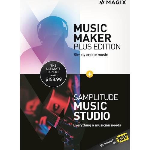 Music Maker Plus Edition + Samplitude Music Studio - Windows