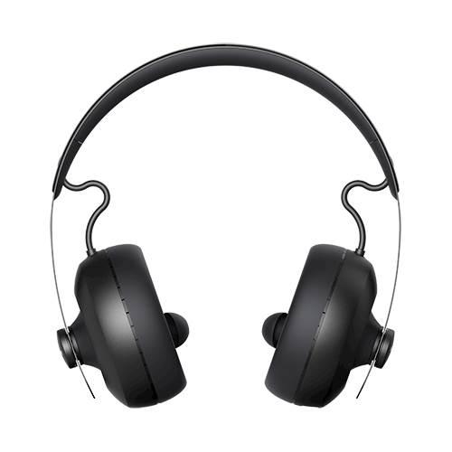 nura - Nuraphone Wireless Over-the-Ear Headphones - Black
