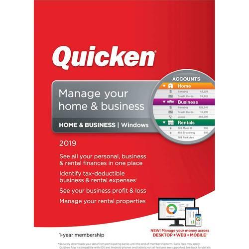 Quicken Home & Business...