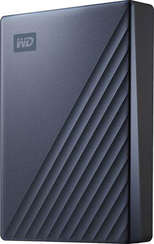 WD 4TB MyPassportUltra BluePortable External Hard Drive, USB-C - WDBFTM0040BBL-WESN