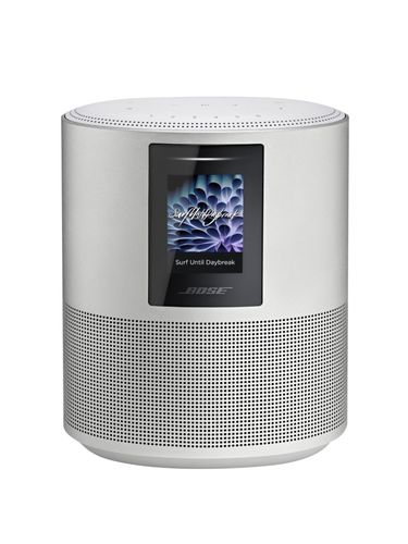 Bose® - Home Speaker 500 Wireless with Built-In Amazon Alexa Voice Control - Luxe Silver