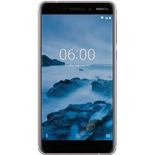 Nokia - 6.1 with 32GB Memory Cell Phone (Unlocked) - White/Iron