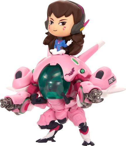 Overwatch Cute But Deadly 6-Inch D.VA w/ Meka Figure