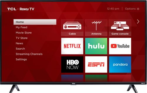 "TCL 49"" Class FHD (1080P) Roku Smart LED TV (49S325)"