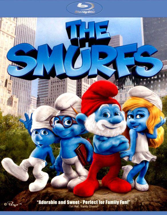 The Smurfs [Includes Digital Copy] [UltraViolet] [Blu-ray] [2011] 6292345
