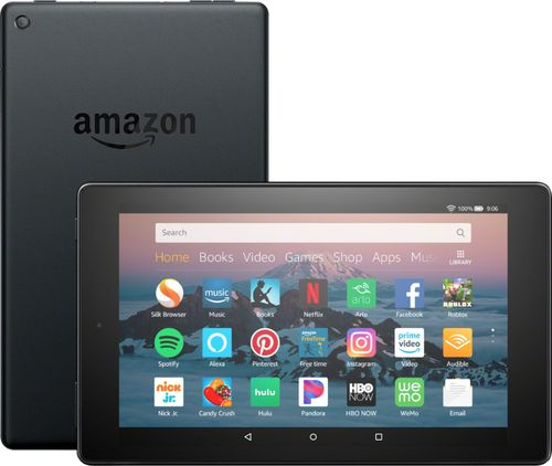 "Amazon Fire HD 8"" Tablet (8th Generation, 2018 Release) - Black - 16GB (with Special Offers)"