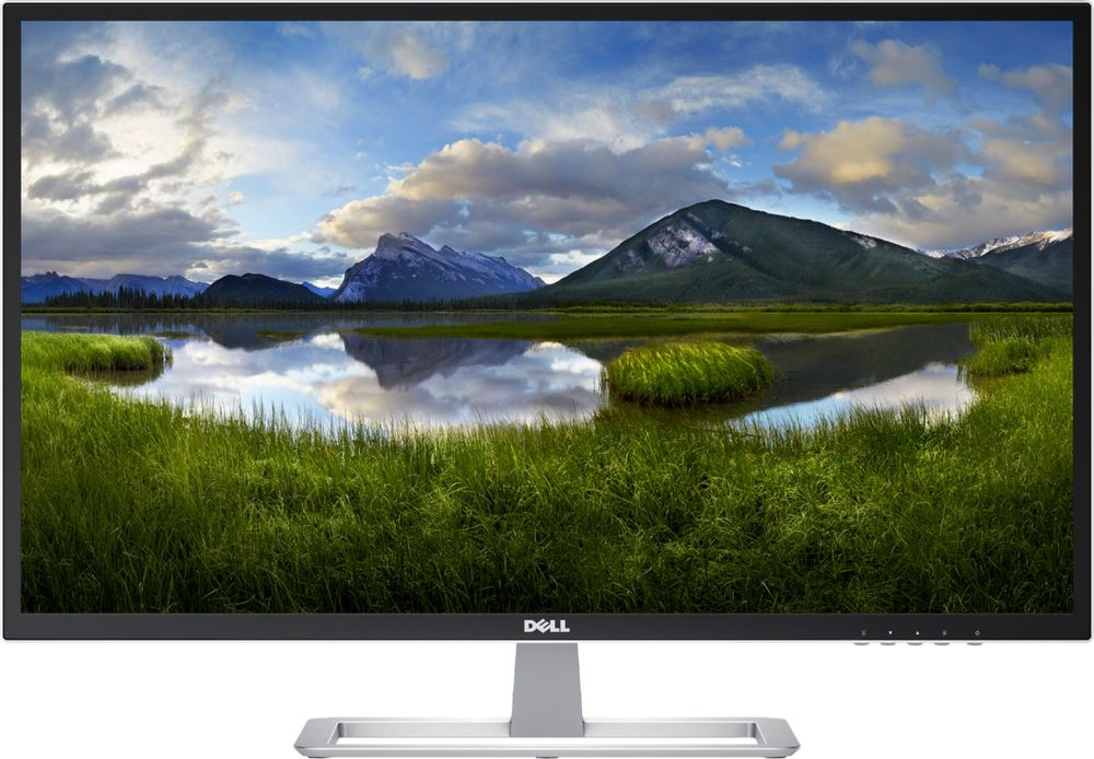 "Dell D Series Led-lit Monitor 31.5"" White D3218hn, Fhd 1920x1080, 16:9, Ips Led Back-lit, Hdmi, Vga, Vesa"