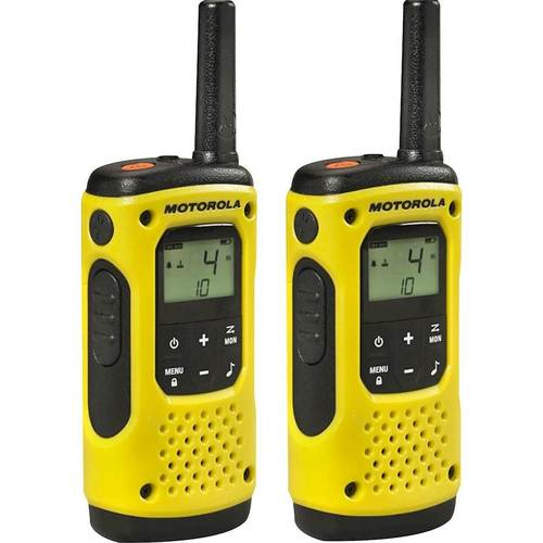 Motorola T631 Talkabout H2O Walkie Talkie Two Way Radio Waterproof, 2 PK