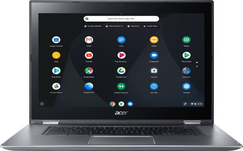 Acer Spin 15 2-in-1 Full HD Multitouch Chromebook 32GB eMMC Flash Memory Silver