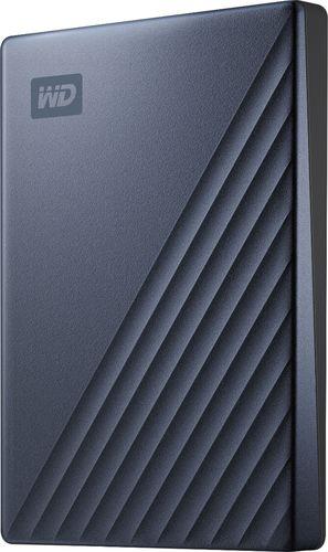 WD 2TB MyPassportUltra Blue Portable External Hard Drive, USB-C - WDBC3C0020BBL-WESN