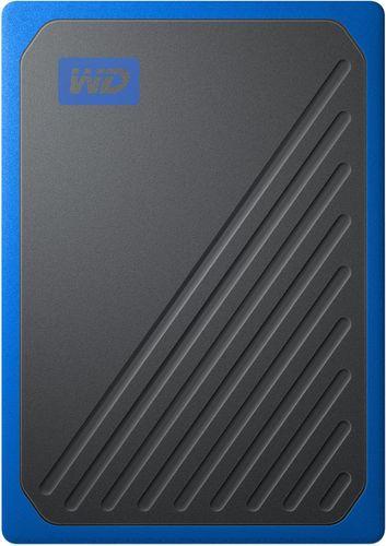 WD 500GB My Passport Go Cobalt SSD Portable External Storage - WDBY9Y5000ABT-WESN Western Digital