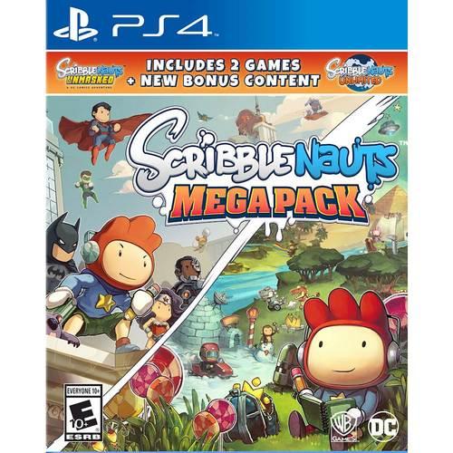 Scribblenauts Mega Pack, Warner Bros, PlayStation 4, 883929653690