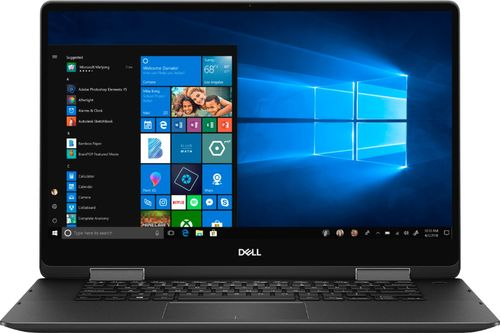 Dell - Inspiron 2-in-1 15.6u0022 4K Ultra HD Touch-Screen Laptop - Intel Core i7 - 16GB Memory - 512GB Solid State Drive - Black
