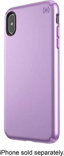Speck Products Presidio Metallic iPhone Xs Max Case, Taro Purple Metallic/Haze Purple