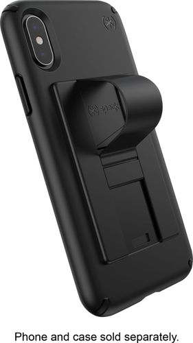 Speck GrabTab Attachable Phone Holder and Stand - All Black
