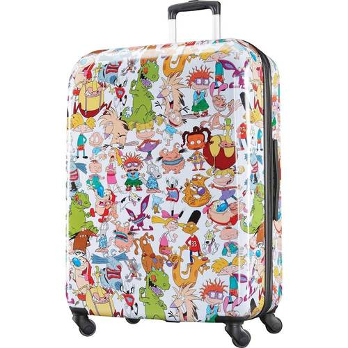 American Tourister Nickelodeon 28u0022 Hardside Spinner Luggage - 90s Mashup