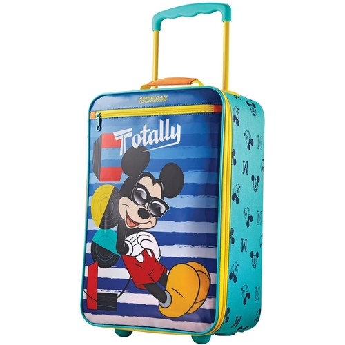 American Tourister Disney Mickey Mouse 18 Softside Kids Carry-on Luggage