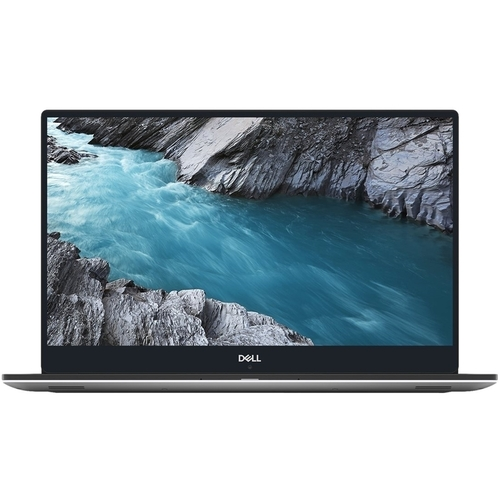 """Dell - XPS 15.6"""" Laptop - Intel Core i7 - 16GB Memory - NVIDIA GeForce GTX 1050 Ti - 512GB Solid State Drive - Silver"""