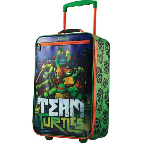American Tourister Nick Kids 18u0022 Softside Luggage - Ninja Turtles