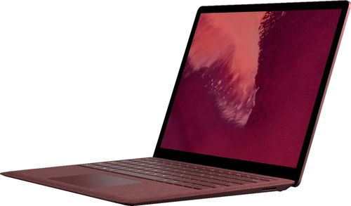 Microsoft Surface Laptop 2 13.5u0022 Intel Core i5 8GB RAM 256GB SSD (Latest Model) Burgundy  -  i5-8250U - Quad-core - 6MB SmartCache - 8th Generation - LPDDR3 Memory Technology - Touchscreen - UHD