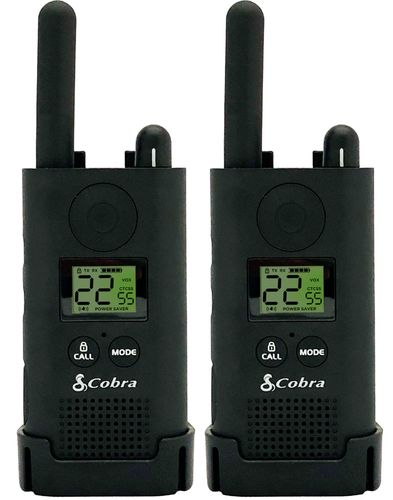 Cobra - Pro Business, 22-Channels 2-Way Radios (Pair) - Black