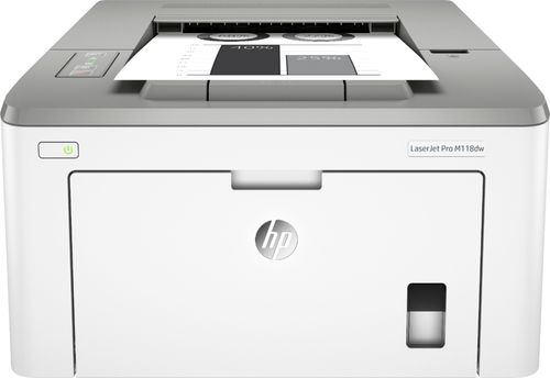 HP LaserJet Pro M118DW Printer, Up to1200x1200 dpi, 10/100 Ethernet, up to 30 ppm black
