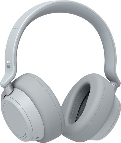 Microsoft Surface Headphones Light Gray  -  Wireless/ Wired - Bluetooth 4.2 - Cortona Assistant - On-ear touch controls - 15hr battery life