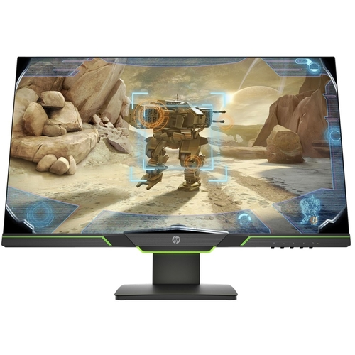 HP 27x 27u0022 LCD Gaming Monitor Black - 1920 x 1080 Full HD Display - 144 Hz Refresh Rate - Twisted Nematic Panel - 1 ms response time