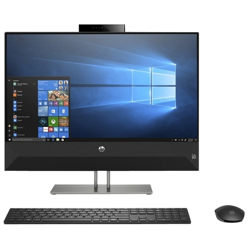 HP Pavilion 27u0022 All-in-One Desktop Computer Intel Core i5 8GB RAM 2TB HDD - 8th Gen i5-8400T Hexa-core - Touchscreen - 16GB Optane Memory