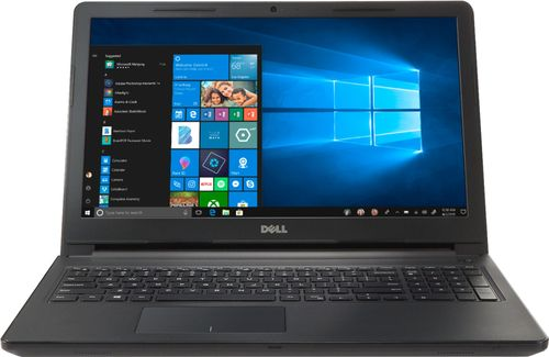 "Dell - Inspiron 15.6"" Touch-Screen Laptop - Intel Core i5 - 8GB Memory - 256GB Solid State Drive - Black"
