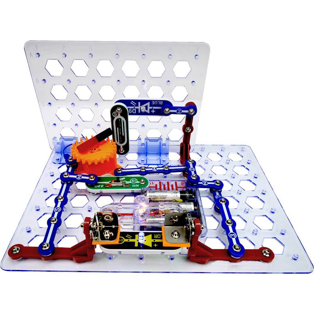Snap Circuits Sc 300 Compare Best Prices Online Shopping Amazoncom Sc300 Electronics Discovery Kit Toys 3d Meg