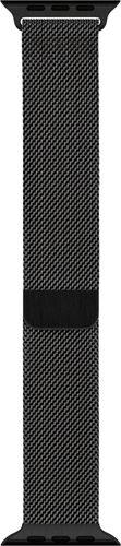 Apple - Milanese Loop for Apple Watch™ 44mm - Space Black